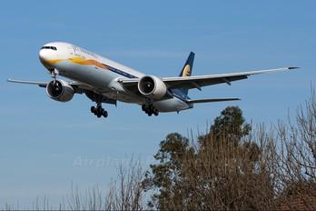 VT-JEK - Jet Airways Boeing 777-300ER