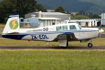 ZK-EDL - Private Mooney M20F
