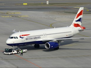 G-EUYF - British Airways Airbus A320