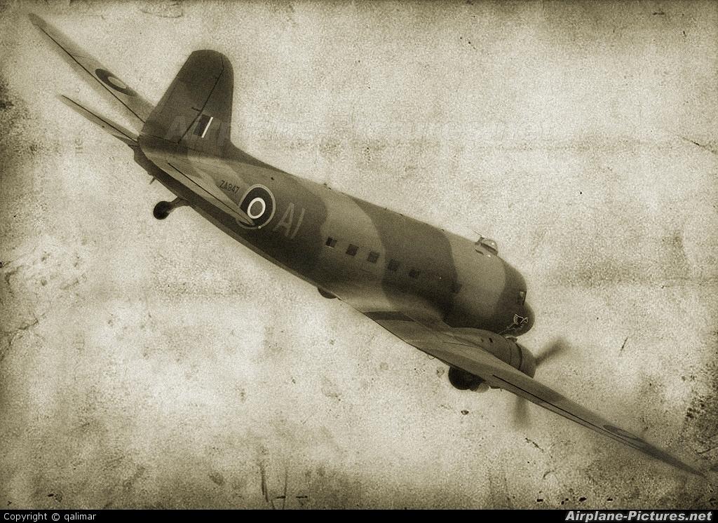 "Royal Air Force ""Battle of Britain Memorial Flight"" ZA947 aircraft at Berlin - Schönefeld"