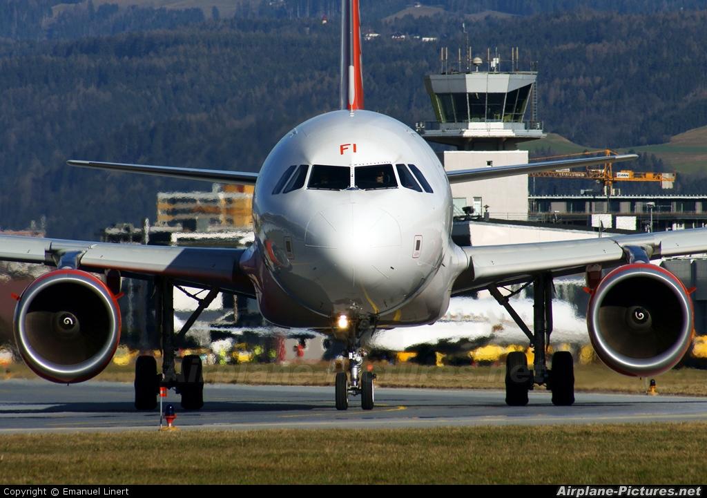 easyJet G-EZFI aircraft at Innsbruck