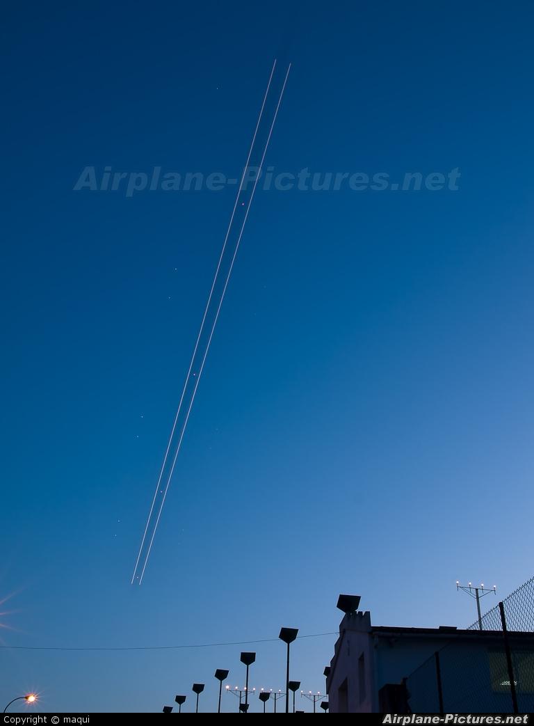 Spanair EC-HQZ aircraft at La Coruña