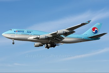 HL7493 - Korean Air Boeing 747-400