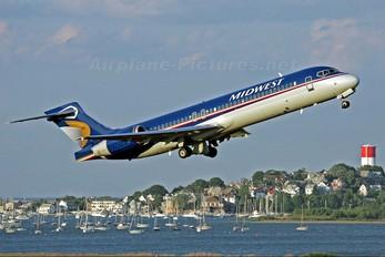N914ME - Midwest Airlines Boeing 717