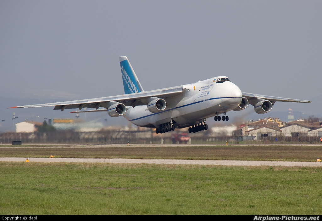 Antonov Airlines /  Design Bureau UR82073 aircraft at Verona - Villafranca