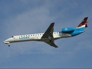 LX-LGY - Luxair Embraer ERJ-145