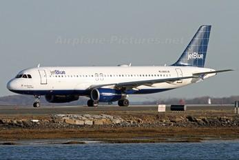 N661JB - JetBlue Airways Airbus A320