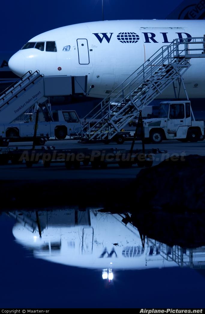 World Airways N279WA aircraft at Frankfurt - Hahn