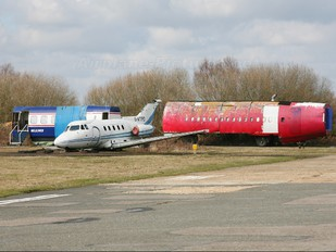 G-ATPD - Private Hawker Siddeley HS.125