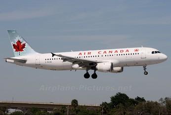 C-FLSS - Air Canada Airbus A320