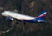 VP-BQV - Aeroflot Airbus A320 aircraft