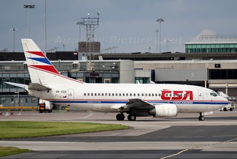 OK-EGO - CSA - Czech Airlines Boeing 737-500