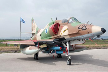 421 - Israel - Defence Force Douglas A-4 Skyhawk (all models)