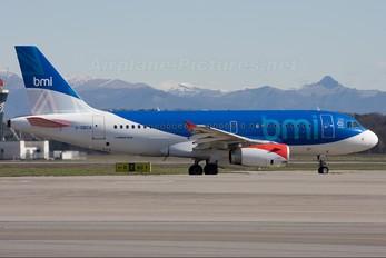 G-DBCA - BMI British Midland Airbus A319