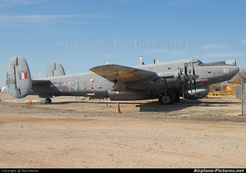 Royal Air Force WL790 aircraft at Tucson - Pima Air & Space Museum