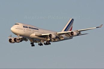 F-GITF - Air France Boeing 747-400