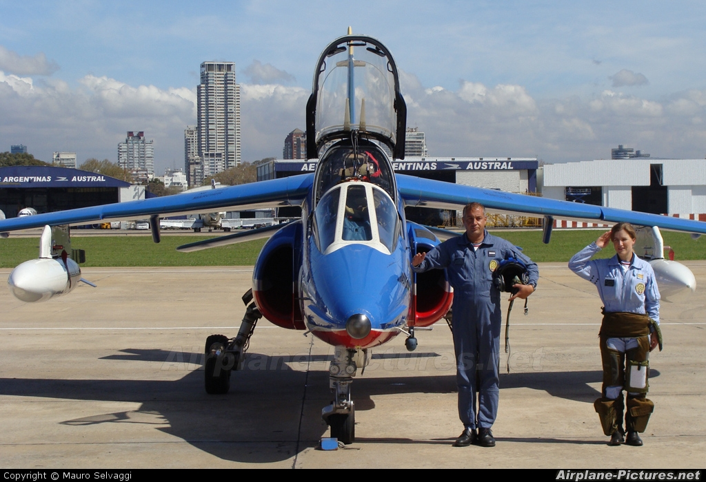 "France - Air Force ""Patrouille de France"" E135 aircraft at Buenos Aires - Jorge Newbery"