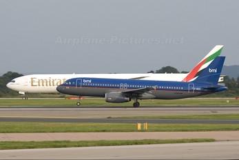 G-MIDZ - BMI British Midland Airbus A320