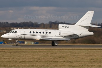 VP-BEA - Private Dassault Falcon 50