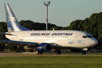 LV-AZU - Aerolineas Argentinas Boeing 737-500