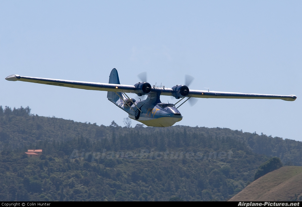 Private ZK-PBY aircraft at Whitianga