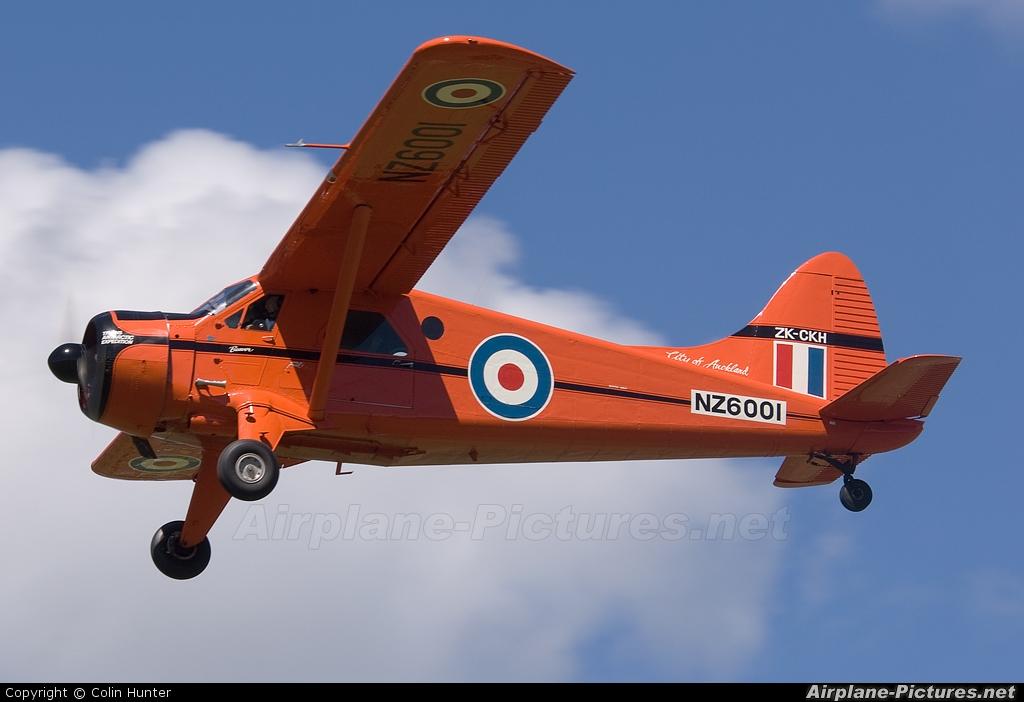 NZ Warbirds ZK-CKH aircraft at Whitianga