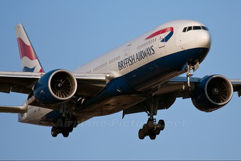 G-VIIY - British Airways Boeing 777-200