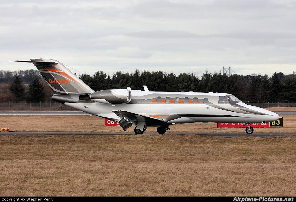 Air Charter Scotland G-OODM aircraft at Edinburgh