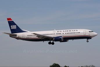 N418US - US Airways Boeing 737-400