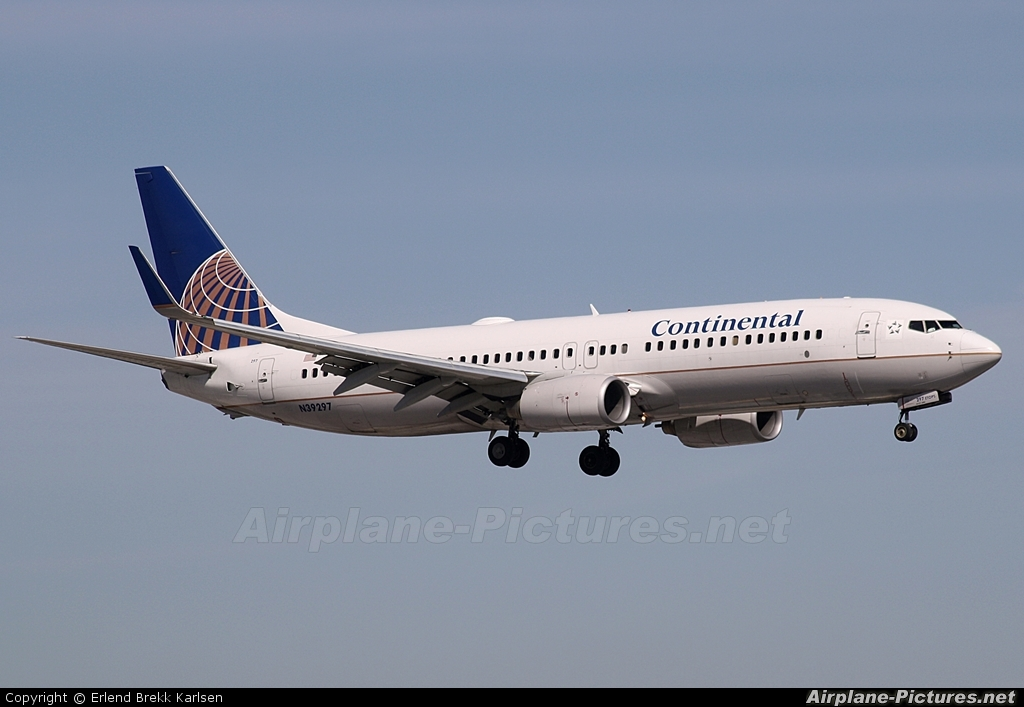 Continental Airlines N39297 aircraft at Fort Lauderdale - Hollywood Intl