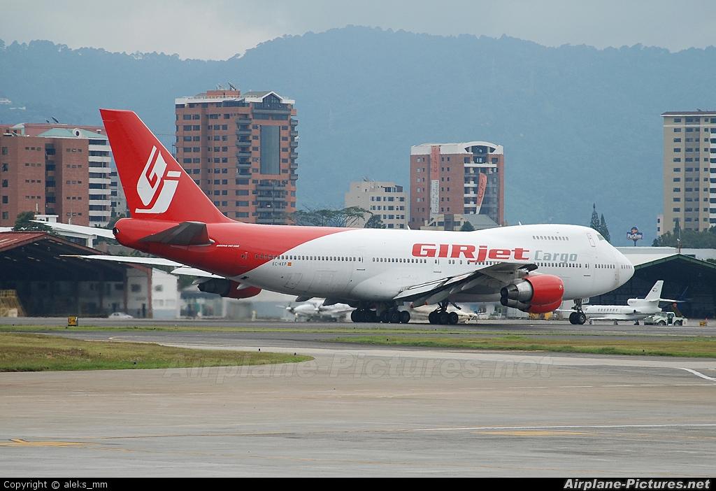 GIRjet EC-KEP aircraft at Guatemala - La Aurora