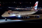 G-CIVH - British Airways Boeing 747-400 aircraft