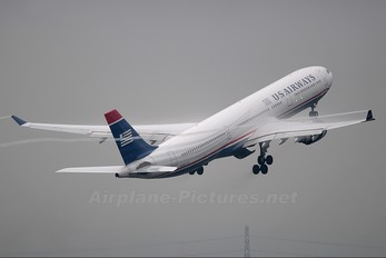 N276AY - US Airways Airbus A330-300
