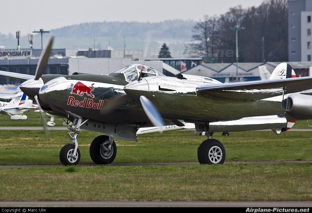 The Flying Bulls N25Y aircraft at Friedrichshafen