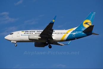 UR-GAS - Ukraine International Airlines Boeing 737-500