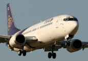 HS-TDJ - Thai Airways Boeing 737-400 aircraft