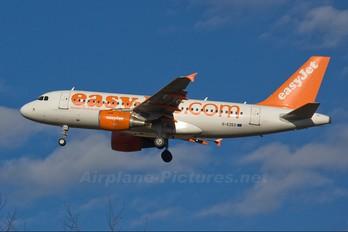G-EZEO - easyJet Airbus A319