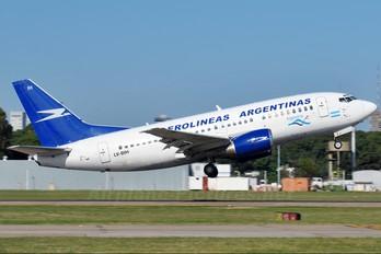LV-BIH - Aerolineas Argentinas Boeing 737-500