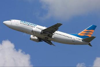 PK-MDE - Merpati Nusantara Airlines Boeing 737-300