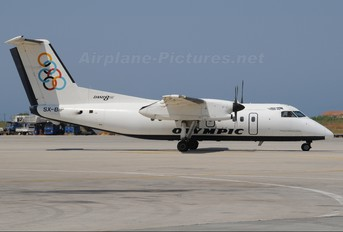 SX-BIP - Olympic Airlines de Havilland Canada DHC-8-100 Dash 8