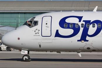 EC-KNE - Spanair Boeing 717