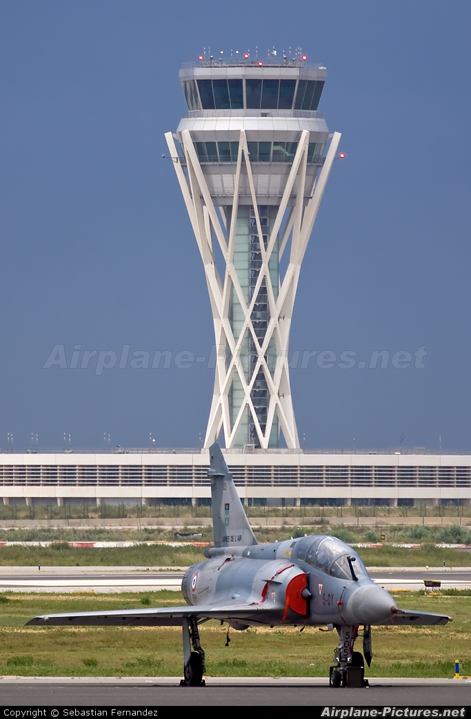 France - Air Force 505 aircraft at Barcelona - El Prat