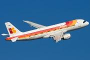 EC-FGH - Iberia Airbus A320 aircraft