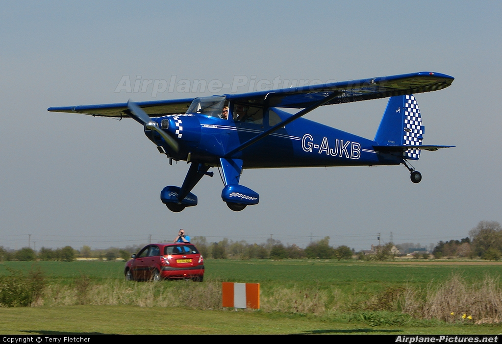 Private G-AJKB aircraft at Fenland