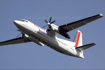 OO-VLF - CityJet Fokker 50