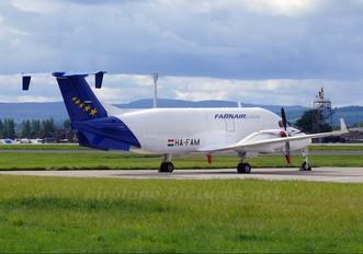 HA-FAM - Farnair Europe Beechcraft 1900D Airliner