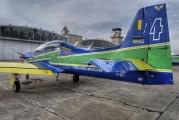 """1327 - Brazil - Air Force """"Esquadrilha da Fumaça"""" Embraer EMB-312 Tucano T-27 aircraft"""