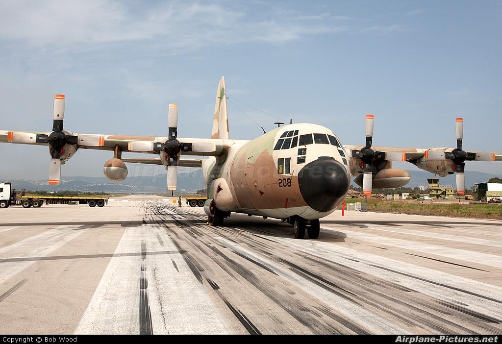 Israel - Defence Force 208 aircraft at Ramat David