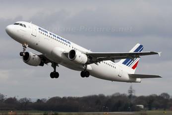 F-GFKT - Air France Airbus A320