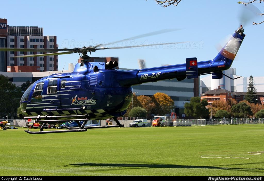 The Flying Bulls HB-ZJF aircraft at Perth - Langley Park, WA